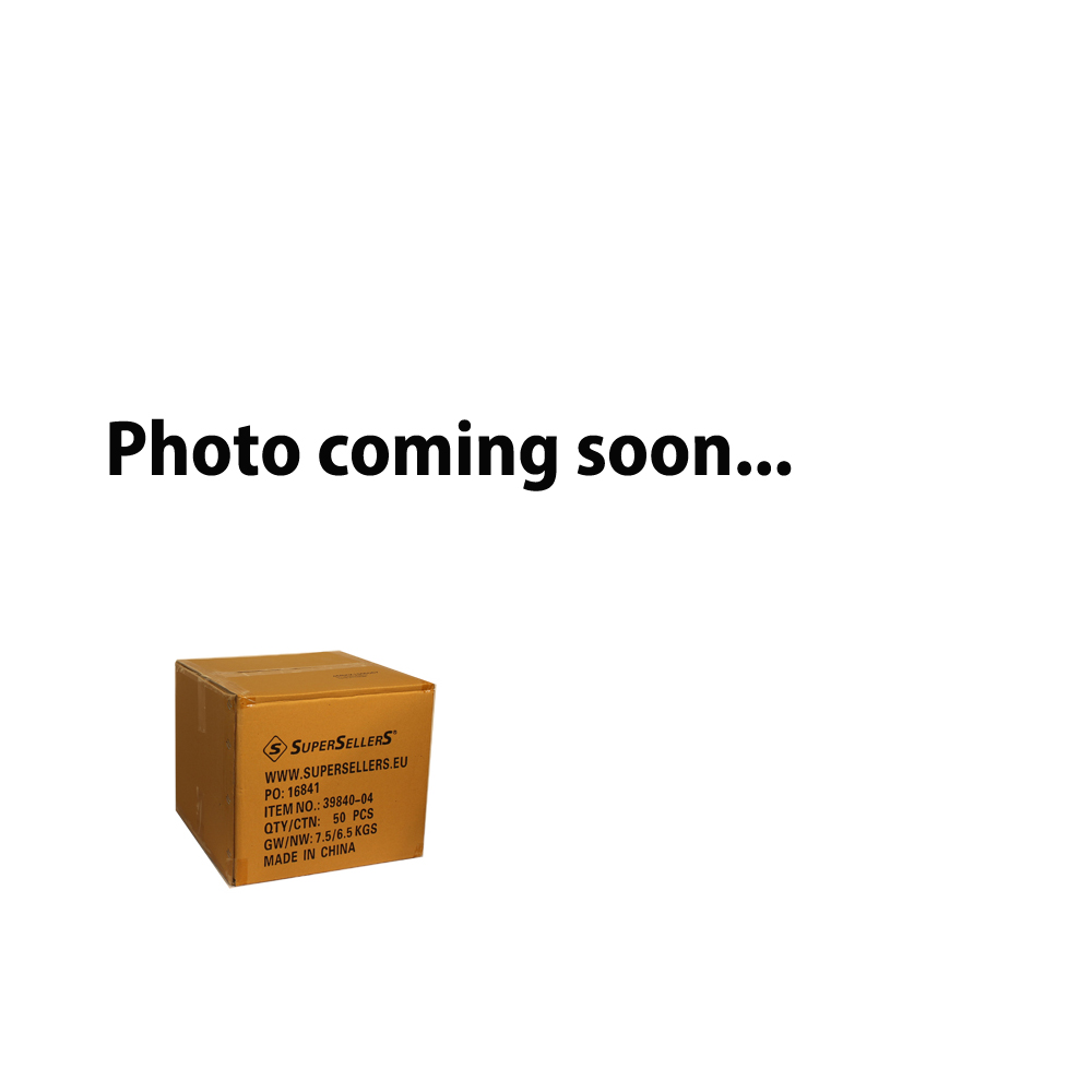Dobbeltsidet-gondol - Hvid - 67 x H247 cm.