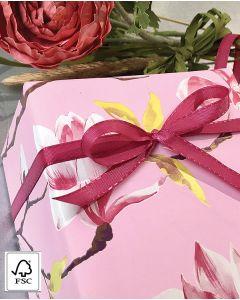 Gavepapir magnolie - B 70 cm