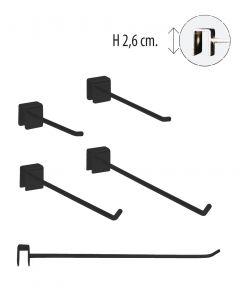 Vörukrókar fyrir 12 mm slá
