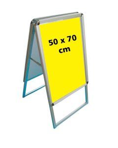 A-skilti, ál. 50 x 70 cm