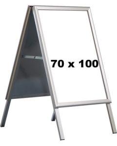 A-skilt - 70 x 100 cm. - Alu