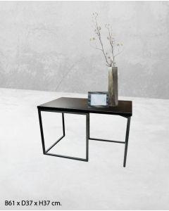 Útstillingarborð H37 cm. - svart
