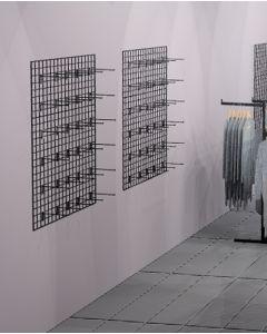 Gitter (90 x 120 cm.) - Sort